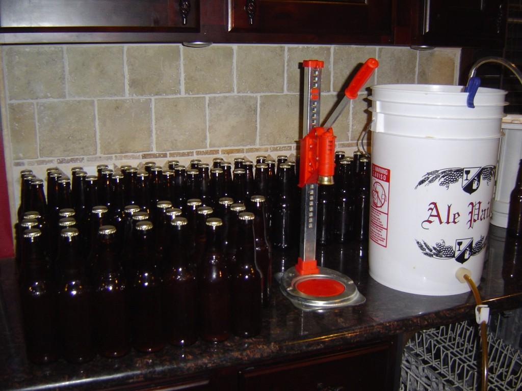beer bottles & capper