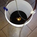 Bottling a Mint Chocolate Stout