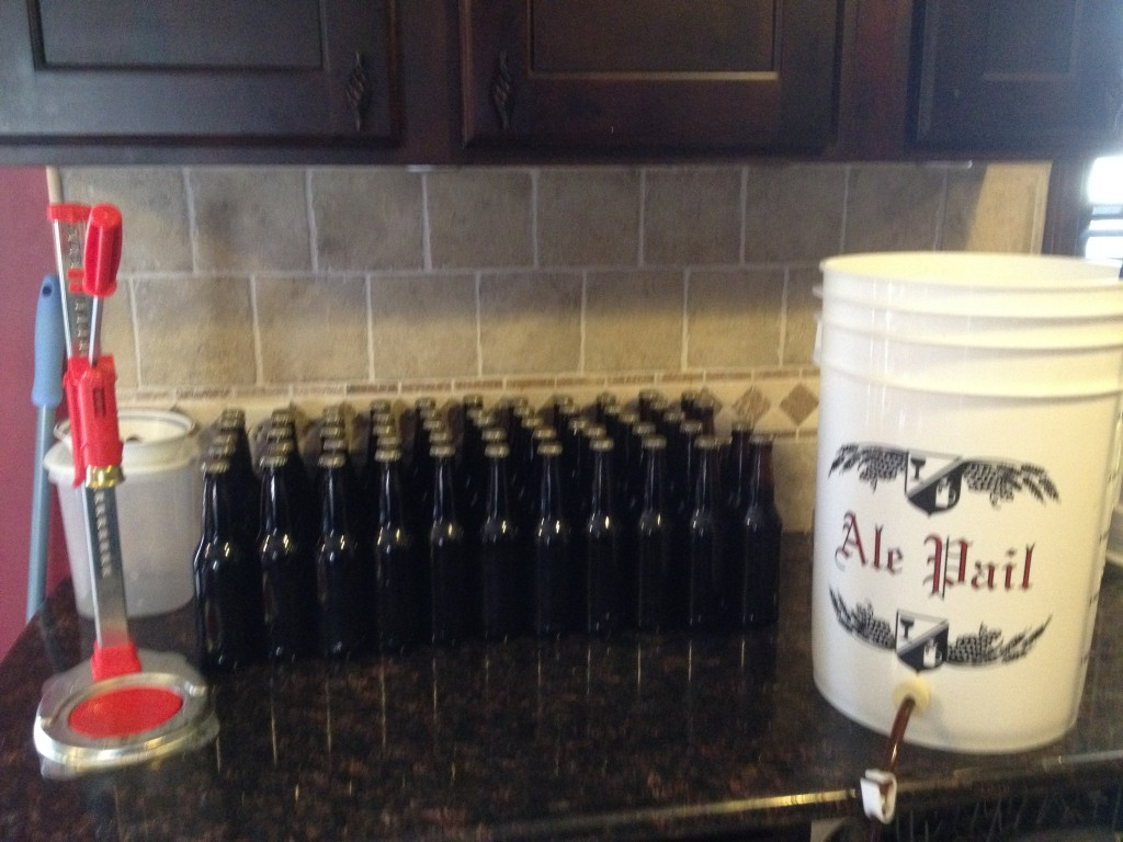 Mint Chocolate Stout Bottled